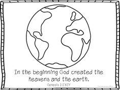 Tons of free Earth Day Bible Printables for lessons in