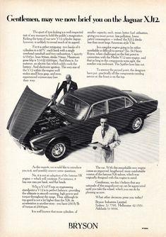 Jaguar Xj12, Jaguar Daimler, Car Advertising, Sidecar, Motor, Classic Cars, The Incredibles, Brochures, Vehicle