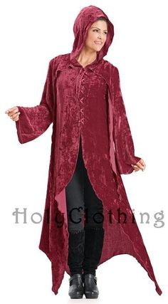 Shop Gwendolyn Jacket: http://holyclothing.com/index.php/gwendolyn-enchanted-flowing-velvet-lace-up-hooded-maxi-jacket.html?utm_source=Pin  #holyclothing #velvet #hooded #jacket #bohemian #gypsy #boho #renaissance #romantic #love #fashion #musthave