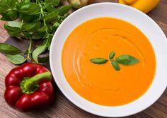 sült paprika leves