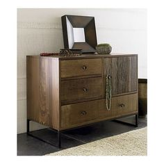 Atwood Chest in Dressers, Chests | Crate and Barrel
