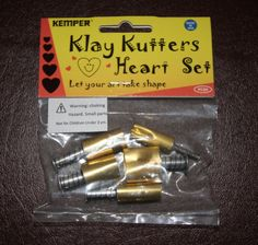 Plunge style Heart cutter by Kemper Klay Kutters  by LindasArtSpot, $11.99
