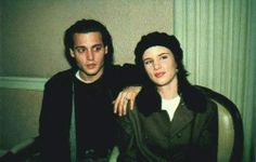 Uploaded by linsy. Find images and videos about johnny depp, young johnny depp and juliette lewis on We Heart It - the app to get lost in what you love. Johnny And Winona, Young Johnny Depp, Johnny Depp Hairstyle, Johnny Depp Leonardo Dicaprio, Old Film Stars, Bae, Johny Depp, Michelle Rodriguez, Cute Faces