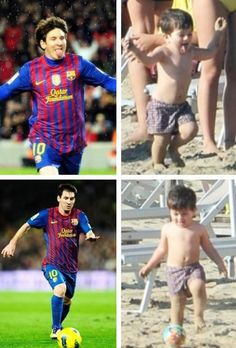 Messi and son Thiago.. pic.twitter.com/JJUZSMi4ps