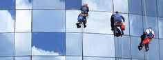 Awesome Commercial Window Cleaning Tips: Make Your Office Shine High Rise Window Cleaning, Commercial Window Cleaning, Commercial Windows, Window Cleaning Tips, Window Cleaning Services, Gutter Cleaning, Cement Stain, Water Drop Photography, Hollywood Florida