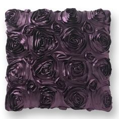 Satin Roses Cushion Cover