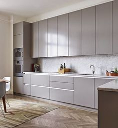 Do you want to have an IKEA kitchen design for your home? Every kitchen should have a cupboard for food storage or cooking utensils. So also with IKEA kitchen design. Here are 70 IKEA Kitchen Design Ideas in our opinion. Hopefully inspired and enjoy! Contemporary Kitchen Cabinets, Modern Kitchen Cabinets, Kitchen Cabinet Design, Modern Kitchen Design, Kitchen Interior, Kitchen Decor, Grey Cabinets, Kitchen Designs, Cabinet Decor