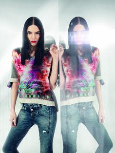 Fornarina ss15 ADV campaign #flowerpower #Fornarina #myFornarina #FashionPhotography