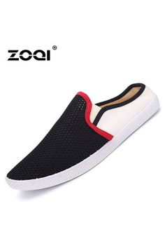 ZOQI Summer Man's Slip-Ons&Loafers Fashion Casual Breathable Comfortable Shoes-Black | Price: ฿562.00 | Brand: ZOQI | From: Top Seller Shoes - รวมรองเท้าแฟชั่น รองเท้าผู้ชาย รองเท้าผู้หญิง ราคาพิเศษ | See info: http://www.topsellershoes.com/product/72314/zoqi-summer-mans-slip-onsloafers-fashion-casual-breathable-comfortable-shoes-black