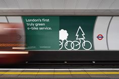 Studio South creates a whimsical brand for HumanForest, London's first 'truly green' e-bike service — The Brand Identity