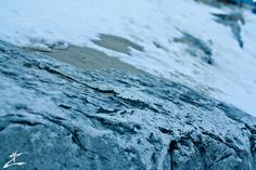 Sand Stone and Snow