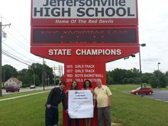 Jeffersonville High in #Indiana is so cool they sent us two photos!!!  #RaceTo10K - try to be as cool as them - www.stemfuse.com
