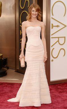 Laura Dern from 2014 Oscars Red Carpet Arrivals | E! Online