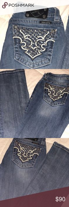 Miss me jeans Practically new boot cut mid rise miss me jeans. Size 28. Miss Me Jeans Boot Cut