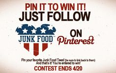 With this competition, you could win 5 of the products you´ve pinned.