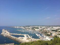 Santa Maria di leuca vista dalla terrazza panoramica
