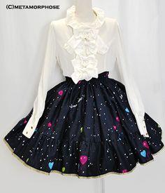 CL/Night Carnival Frill Skirt -BS