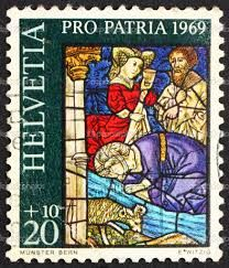 Switzerland postage stamp