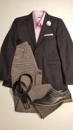 Black linen casual jacket