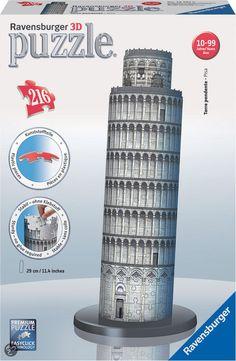 bol.com   Ravensburger 3D Puzzel - Toren van Pisa,Ravensburger   Speelgoed