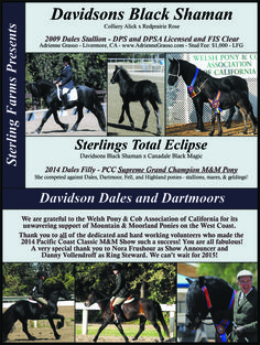 Davidson Dales and Dartmoors