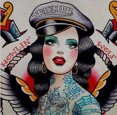 Blog sobre cultura vintage e retrô. Focado em pin-ups ,tatuagens, rockabilly e todo universo old school.
