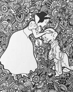 Snow White Design By Byjamierose On Etsy