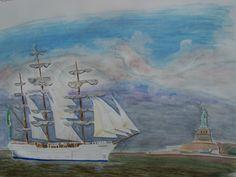 Le Cisne Branco dans l'Hudson River