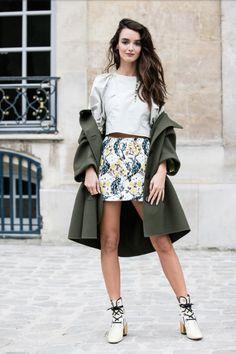 Charlotte LeBon - Dior - pic vogue paris