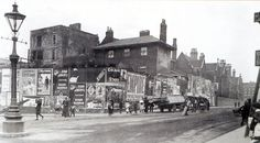 A view of Midland Road/Unity Street junction 1906. - St Philips Station has long since been swallowed up by development. Today the Railway Path begins just off the Midland Road.   Which takes its name from the old railway.   Pubs in the area were: GREYHOUND Midland Road. Landlady Florence Francis in the 1940's, previously at the Raglan Castle in Easton, Florence moved to the Greyhound when the Raglan closed in the early thirties, she had been at the Raglan since 1918 and had taken over t... George Francis, Bristol England, Tower Block, City Of Bristol, Victorian Terrace, West Lake, Newfoundland, The Neighbourhood, Old Things
