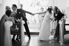 Lustige Hochzeitsfotos Ideen schwarz weiß