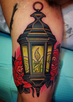 neo traditional lantern tattoo - Google 검색