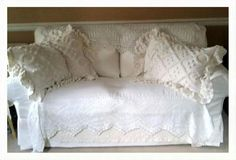 New loveseat, old lace