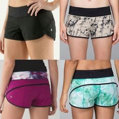 ✨ISO✨ lululemon speed shorts I'm searching for these exact designs of speed shorts only! size 8: -black -great granite mojave tan-black -raspberry blooming pixie multi/black -spray dye white blue tropics  please let me know if you have them and will sell priced reasonably! lululemon athletica Shorts