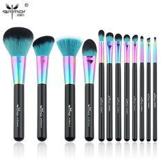 Makeup Brush Set Colorful Makeup Brushes Beautiful Powder Blush