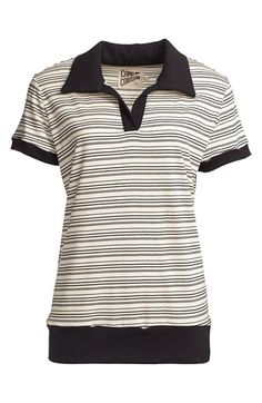 CAMP Collection 'Susie' Stripe Polo (Women) available at #Nordstrom