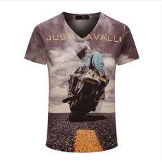 Top Quality New Summer Vintage Short Sleeve V Neck Printed 3D T Shirt Men Brand Cotton T-shirts Fashion Tees Men's Clothing