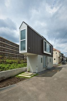 Designed byMizuishi Architects Atelier inJapan, the miniature 594-square-foot house turns out to be functional and spacious.