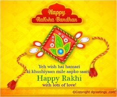 Happy Rakhi ..