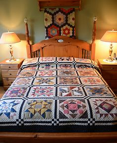 Sew'n Wild Oaks Quilting Blog: Minglewood Month #5, LOVE THIS WHOLE QUILTED ROOM. IT'S BEAUTIFUL, WITH A WHOLE LOT OF LOVE FILLING THE AIR