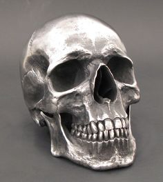 Human Skull Stainless Steel