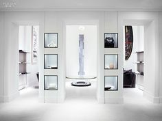Jacques Grange and the Olsen Twins Open the Row, New York | An Isamu Noguchi sculpture in the footwear salon. #design #interiordesign #interiordesignmagazine #projects #retail