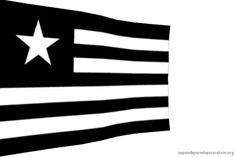 Papel de Parede para Celular - Gif Animado Bandeira do Botafogo 480x320