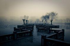 Shangqiu Normal University, Shangqiu, Henan, China  feng shui (by china.sixty4)