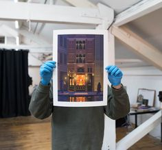 Printed and framed in our Manchester fine art production studio. Each print is produced on archival giclée paper, guaranteeing excellent quality. Production Studio, Manchester Art, Fine Art, Art Prints, Photo And Video, Printed, Paper, Instagram, Art Impressions