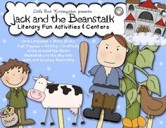 Jack and the Beanstalk Literacy Fun Activities & Centers $