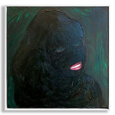 Skinned 2017. Oil on canvas. One of my favourite paintings. When I was painting it I was thinking about the false exteriors that we present to blend in fit look comfortable. Behind the eyes there might be nothing recognisable a darkness that we cant reveal. Of course theres always our context; the darkness of cultural political economic and societal oppression to cope with... a system that requires us to present well or be damned.  #mentalhealth #socialmedia #painting #paintingwithatwist…