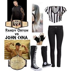 You are being the special guest ref for John Cena vs Randy Orton.