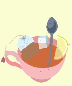 join the par-tea by Sylvia K Mansfield, via Behance