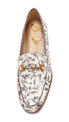 sam edelamn loraine printed loafers